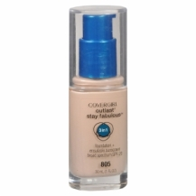 Covergirl Outlast Stay Fabulous 3-in-1 Foundation, Ivory 805